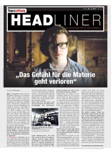 Jo Stöckholzer Headliner Cover 2013