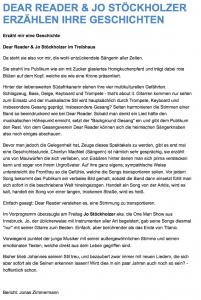 Jo Stöckholzer Konzertreview Dear Reader Jonas Zimmermann mei-sound